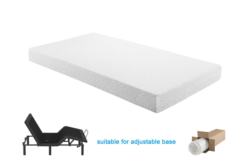 "Posh Sleep MT-G 8"" Gel-Infused Memory Foam"