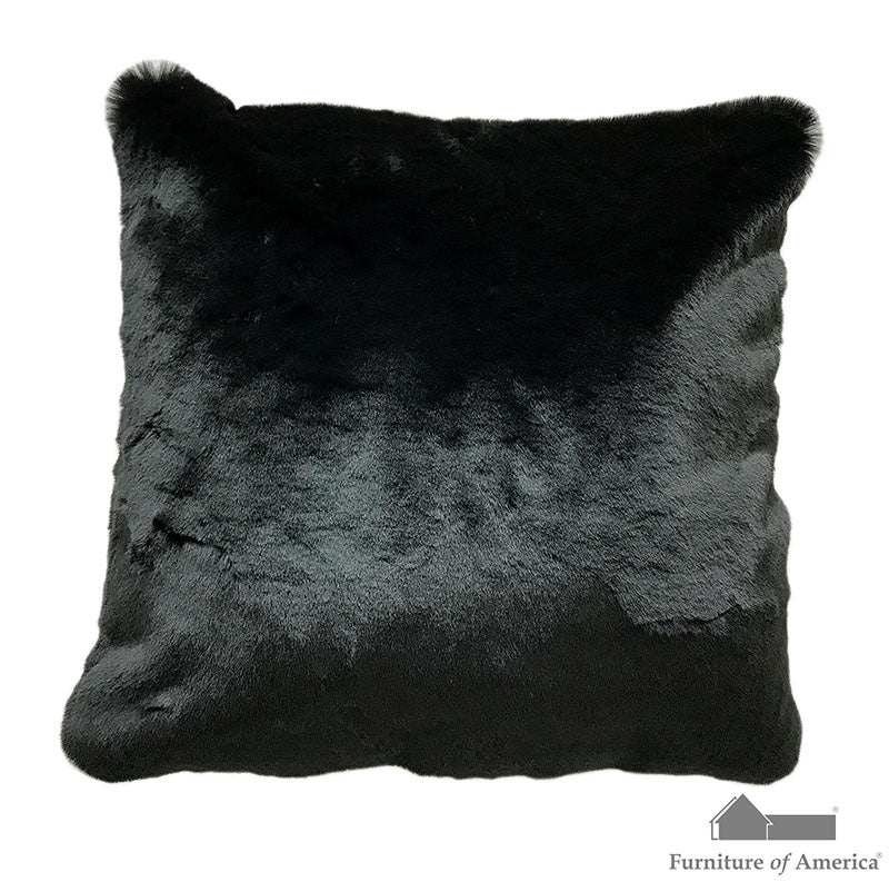 "Caparica Black 20"" X 20"" Pillow, Black image"