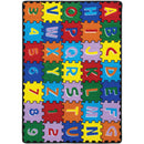 "Abbey Alphabet/Multi 4' 9"" X 6' 9"" Area Rug image"