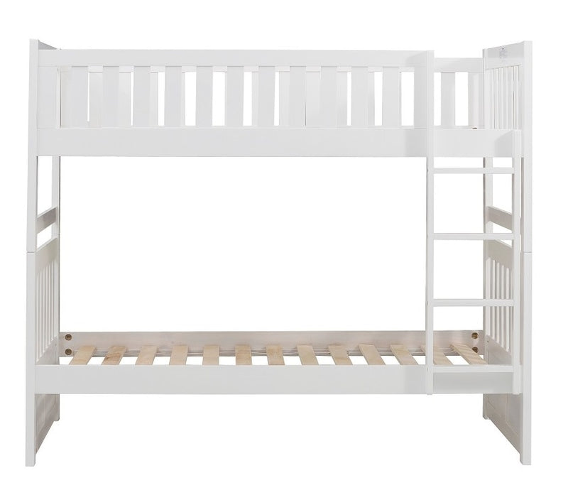 Homelegance Galen Twin/Twin Bunk Bed in White B2053W-1* image