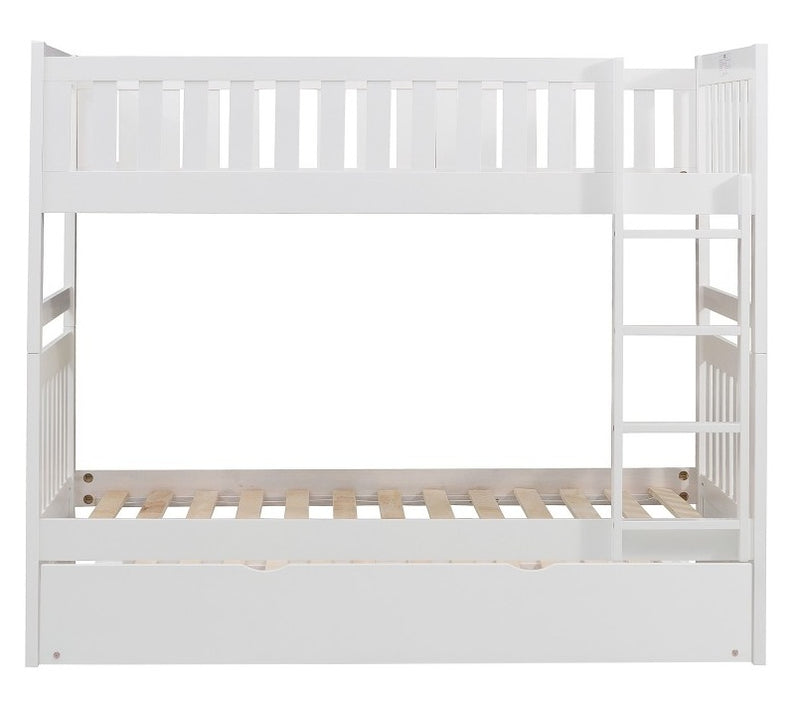 Homelegance Galen Twin Trundle in White B2053W-R