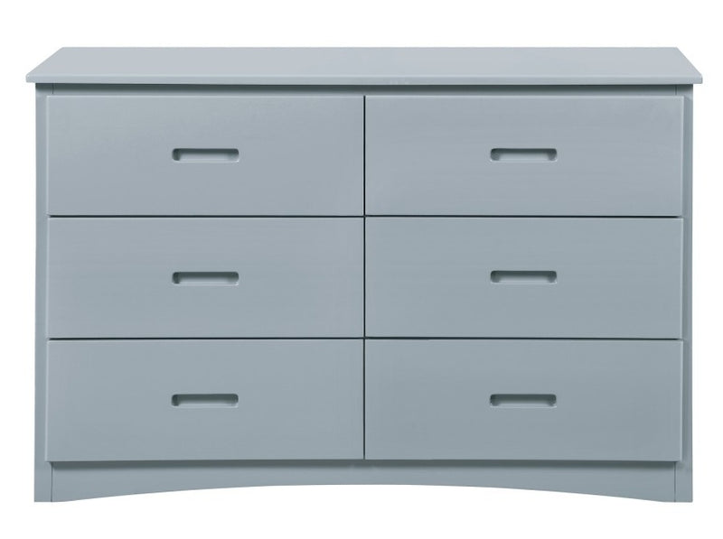 Homelegance Orion 6 Drawer Dresser in Gray B2063-5