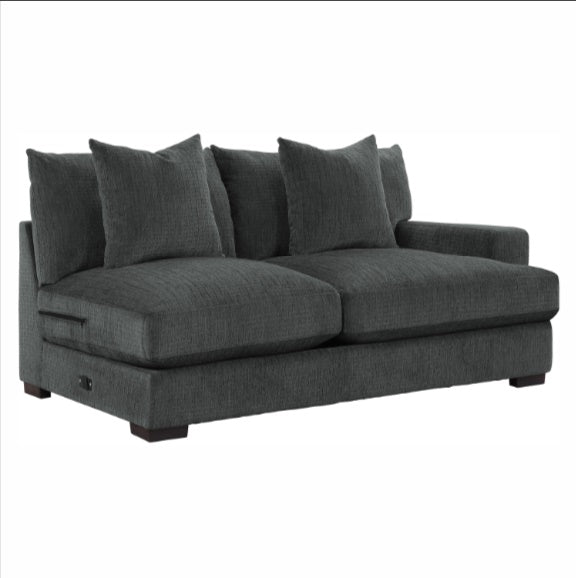 Homelegance Furniture Worchester Right Side 2-Seater in Gray 9857DG-2R image