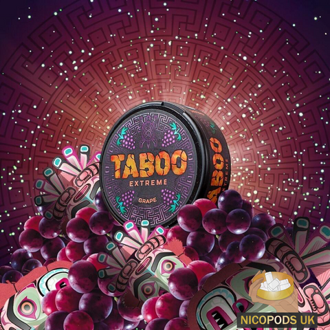 Taboo Extreme Grape - Nicopods.UK