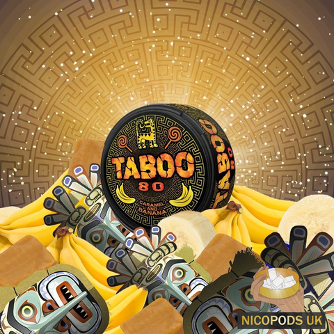 Taboo Caramel and Banana - Nicopods.UK