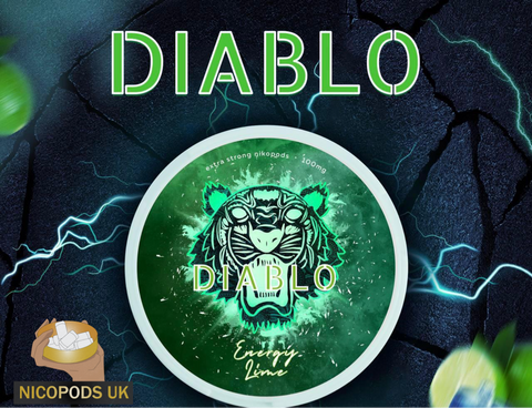 Diablo Energy Lime - Nicopods.UK