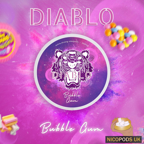 Diablo Bubblegum - Nicopods.UK