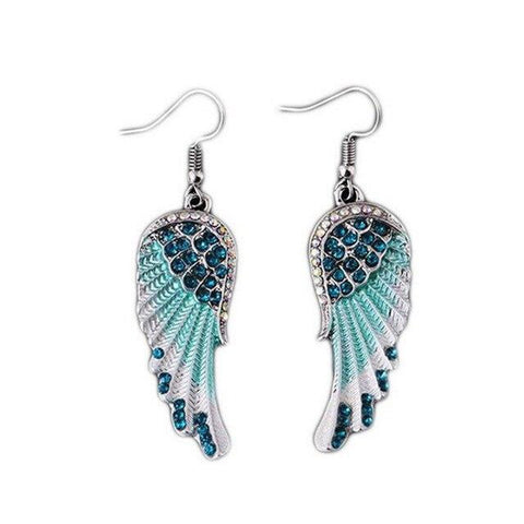 Angel Wings </br> Christian Earrings