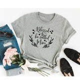 Blessed to Be Called Mimi </br> Christian T-Shirt