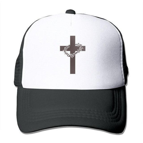 Cross Crown Of Thorns </br> Christian Hat