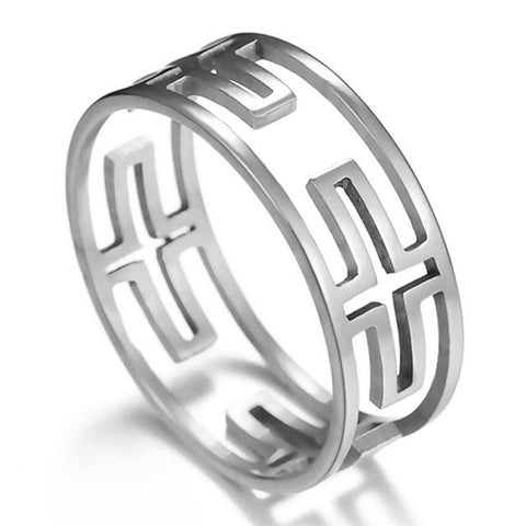 Cross shaped </br> Christian Rings