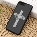 Cross Surrounded By Crown Of Thorns </br> Christian Phone Case