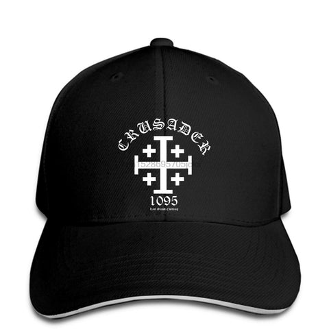 Crusader Knight Templars Jerusalem Cross </br> Christian Hat
