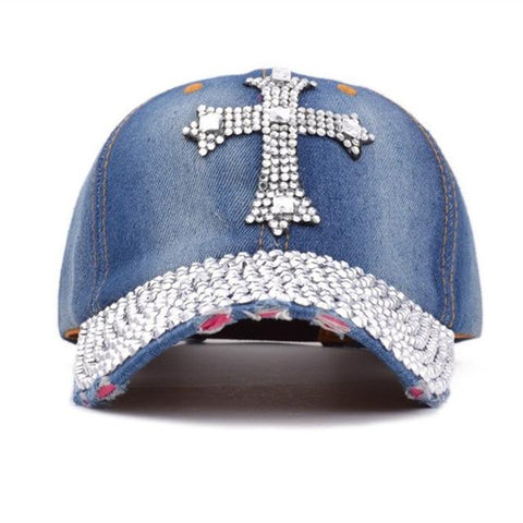 Crystal Diamond Jeans </br> Christian Hat