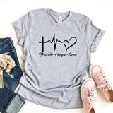 Faith Hope Love </br> christian T-Shirt