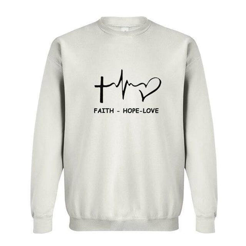 Faith Hope Love </br>Christian Sweatshirt