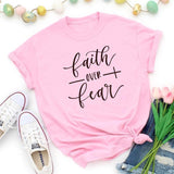 Faith Over Fear </br> Christian T-Shirt