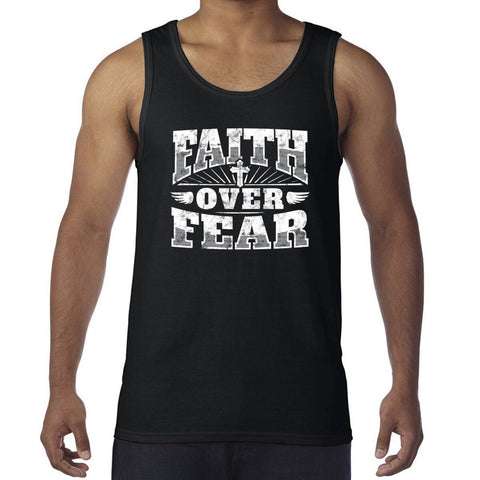 Faith Over Fear </br> Christian Tank Top