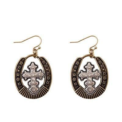 God Blessed You </br>Christian Earrings