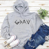 God is Greater than the highs and lows </br> Christian Hoodie