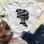 God is within her </br> Christian T-Shirt