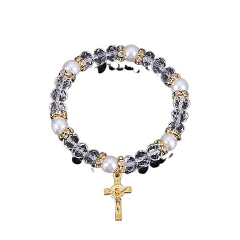 Holy Mercy Jesus Icon </br> Rosary Bracelet