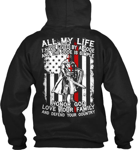 Honor God </br> Christian Hoodie