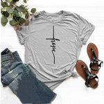 Hope Cross </br> Christian T-Shirt