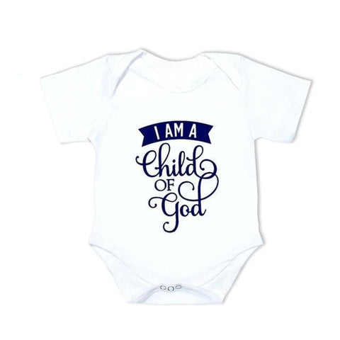 I Am a Child of God </br> Baby Bodysuits