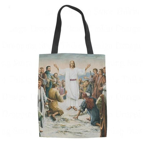 Jesus and His Followers</br> Christian Tote Bag