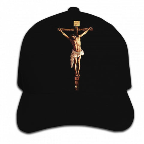 Jesus Christ on the Cross Crucifixion </br> Christian Hat