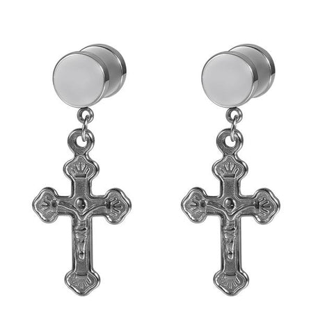 Jesus Cross </br> Christian Earrings