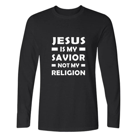 Jesus is my Savior Not My Religion </br> Christian T-Shirt