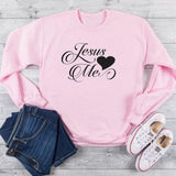 Jesus love me </br> Christian Sweatshirt