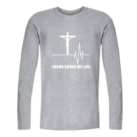 Jesus Saved My Life </br> Christian T-Shirt