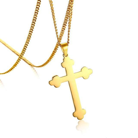 Orthodox Cross </br> Christian Necklace
