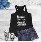 Stressed Blessed </br> Christian Tank Top