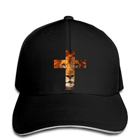 The Lion Of Judah Cross </br> Christian Hat