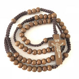 Wooden </br>.Rosary Necklace
