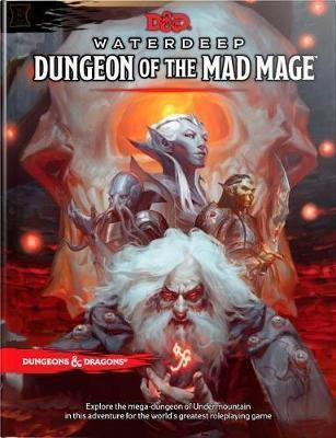 Dungeons & Dragons Waterdeep: Dungeon of the Mad Mage (Adventure Book, D&d Roleplaying Game) | D20 Games