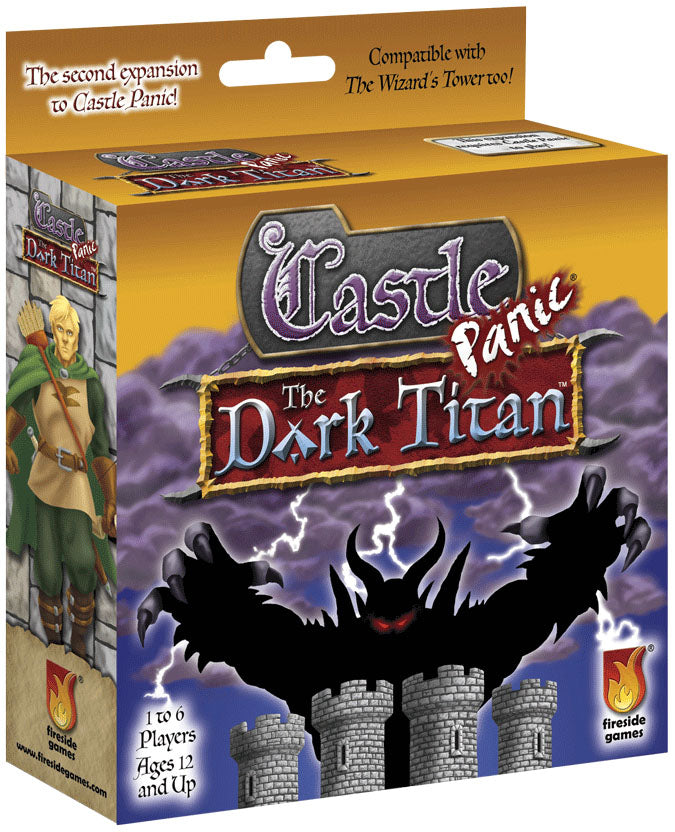 Castle Panic: The Dark Titan Expansion | D20 Games