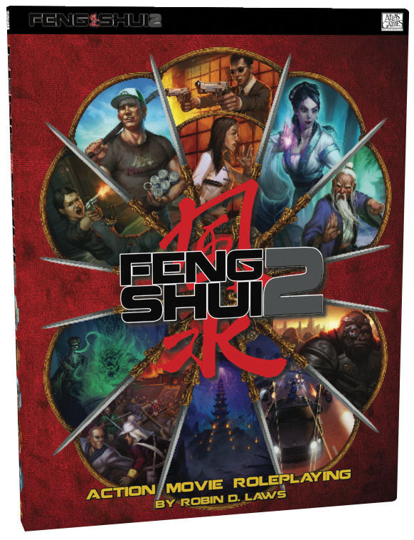 Feng Shui 2 Hardcover | D20 Games
