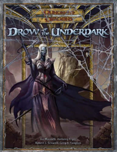 Drow of the Underdark ( DnD 3.5 Expansion book) | D20 Games