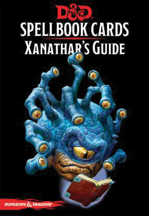 Dungeons and Dragons RPG: Spellbook Cards - Xanathar`s Guide Deck (95 cards) | D20 Games