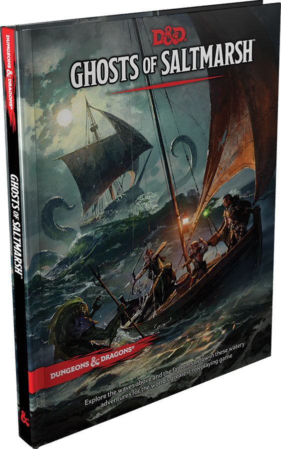 Dungeons and Dragons RPG: Ghosts of Saltmarsh | D20 Games