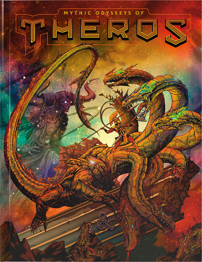 Dungeons and Dragons RPG: Mythic Odysseys of Theros Hard Cover - Alternate Cover | D20 Games