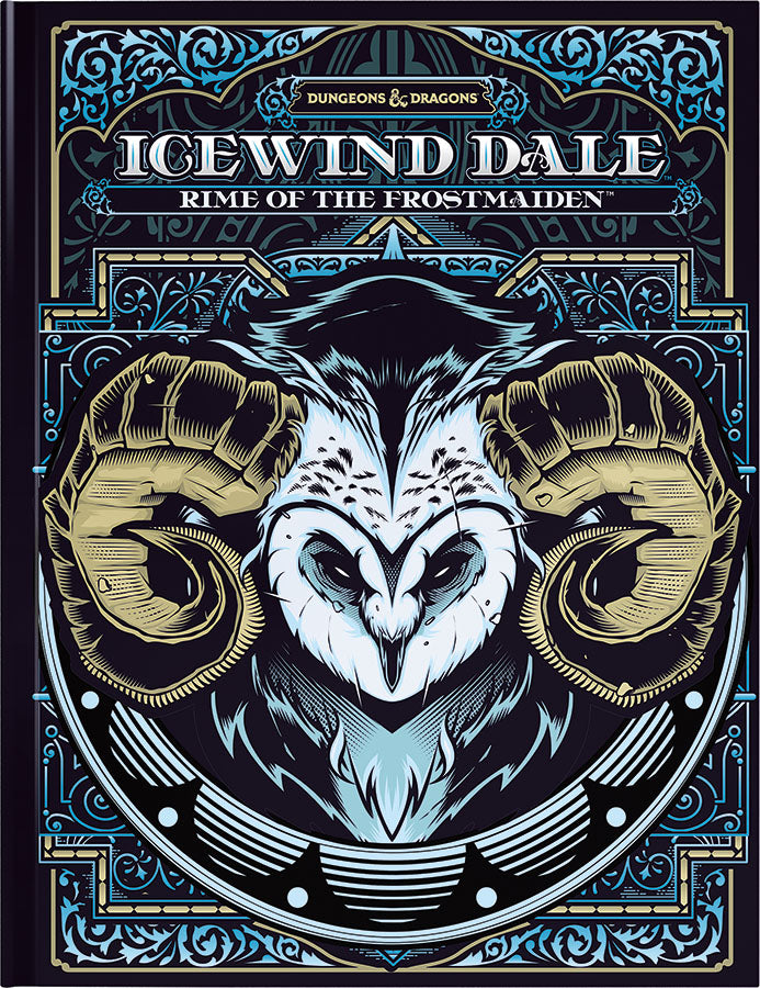 Dungeons and Dragons RPG: Icewind Dale - Rime of the Frostmaiden Hard Cover - Alternate Cover | D20 Games