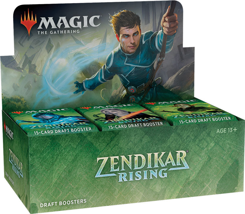 Magic the Gathering CCG: Zendikar Rising Draft Booster Display (36) | D20 Games