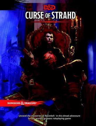 Curse of Strahd : A Dungeons & Dragons Sourcebook | D20 Games