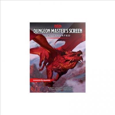 Dungeon Master's Screen Reincarnated | D20 Games